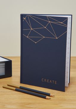 Set Of Notebook And Two Pencils