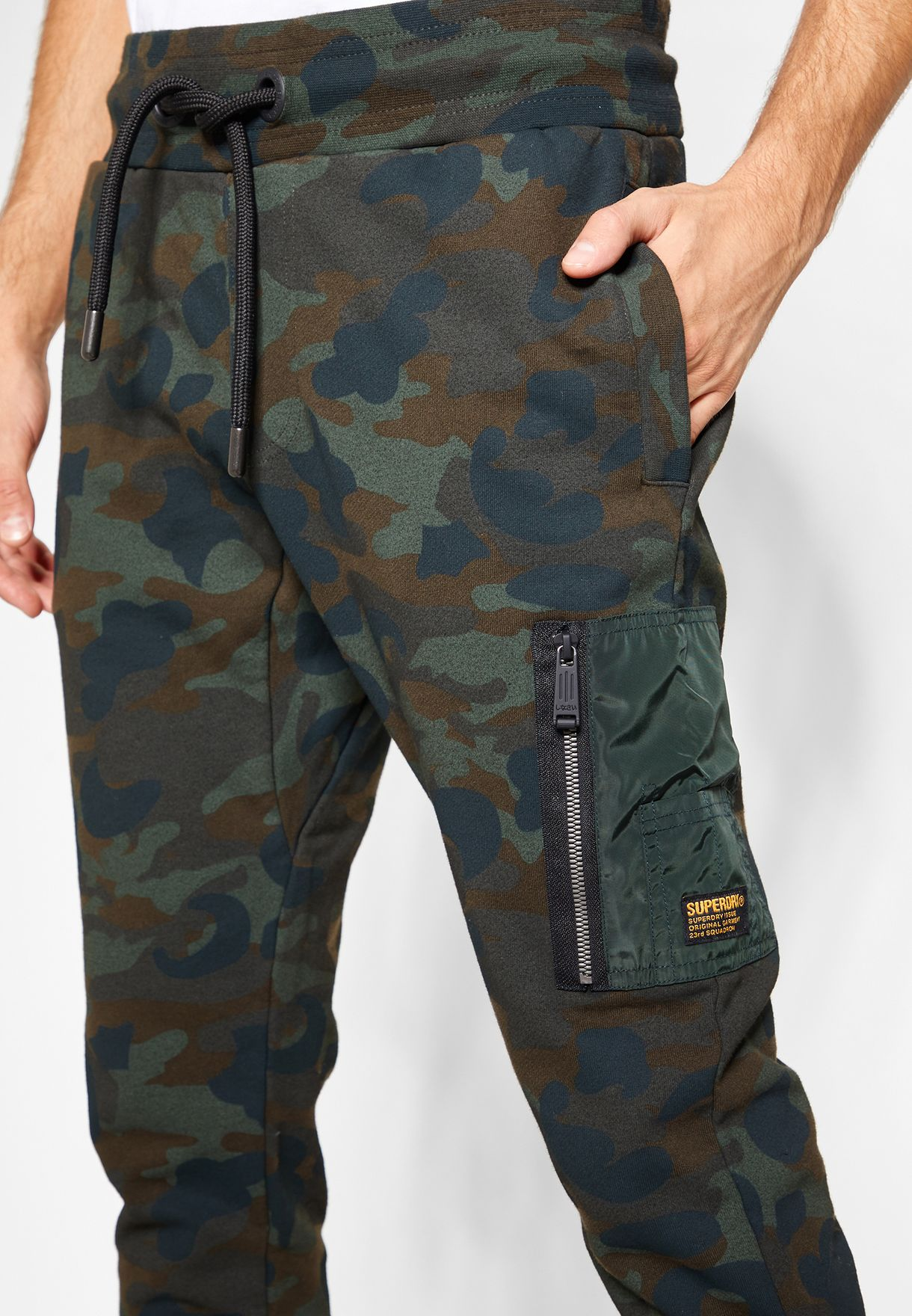 Rookie Zip Pocket Camo Sweatpants
