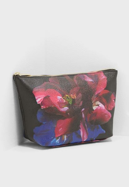 Impressionist Bloom Wash Bag
