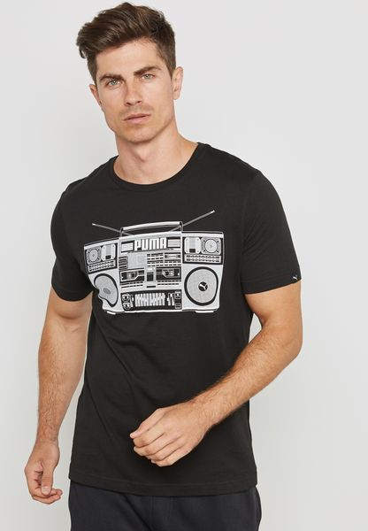 Radio Printed T-Shirt