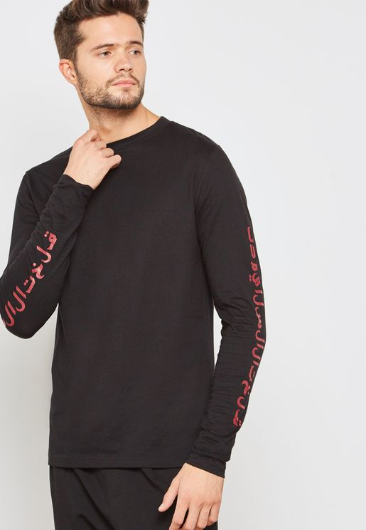 Arabic Slogan T-Shirt