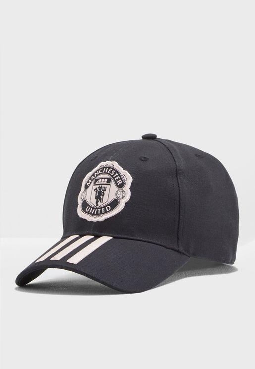 Manchester United 3 Stripe Cap