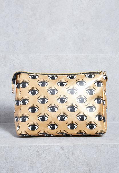 Eyes On You Makeup Bag