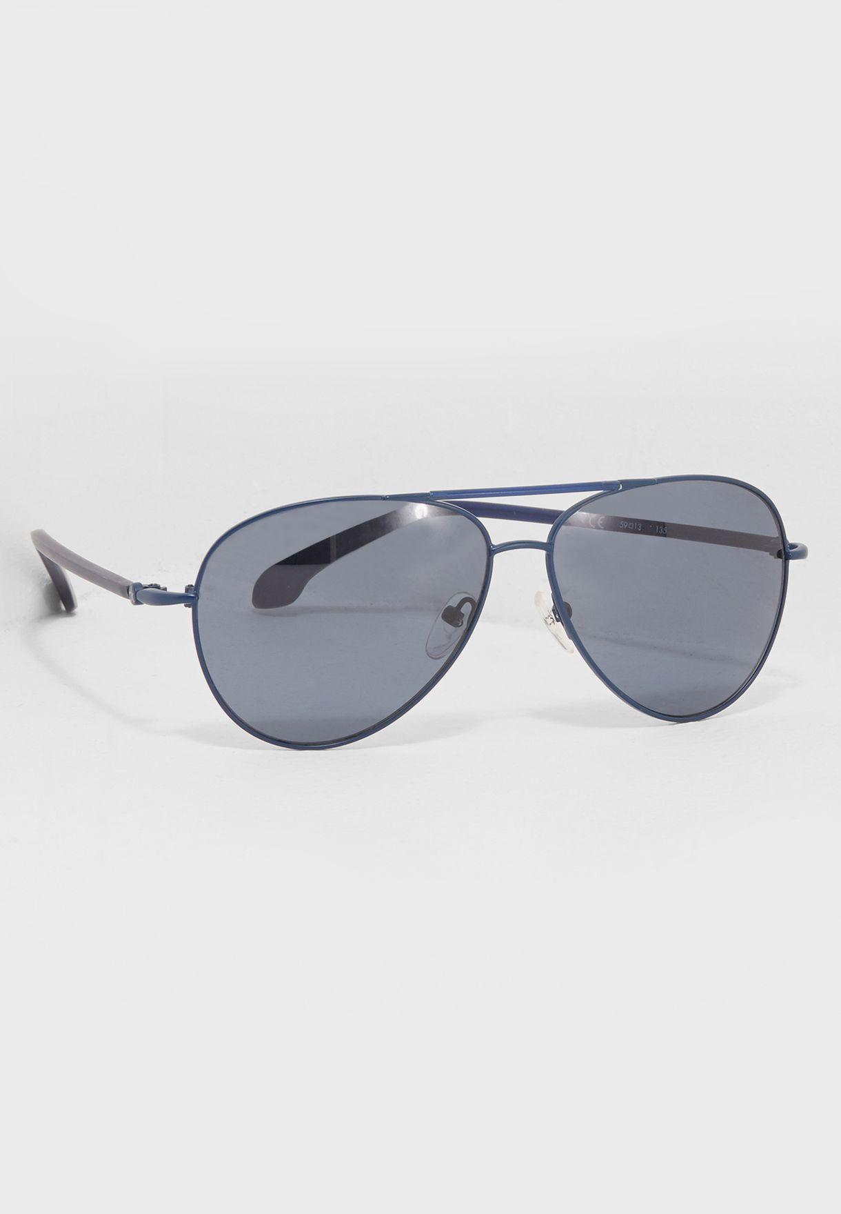 6dda8de9bba4 Shop Calvin Klein blue Aviators CK1184S for Men in Saudi - CA787AC81IJI