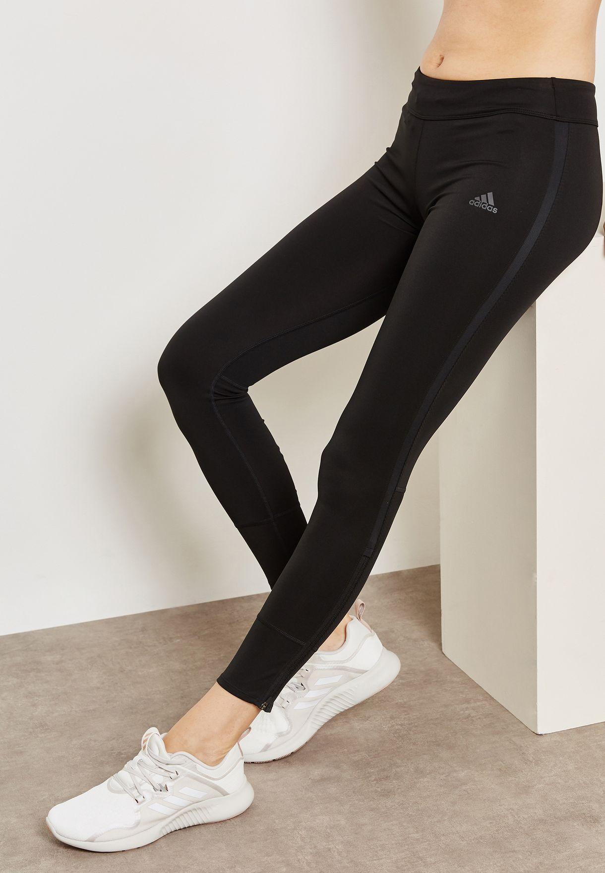 172a707317dc6 Shop adidas black Response Leggings CF6237 for Women in UAE ...