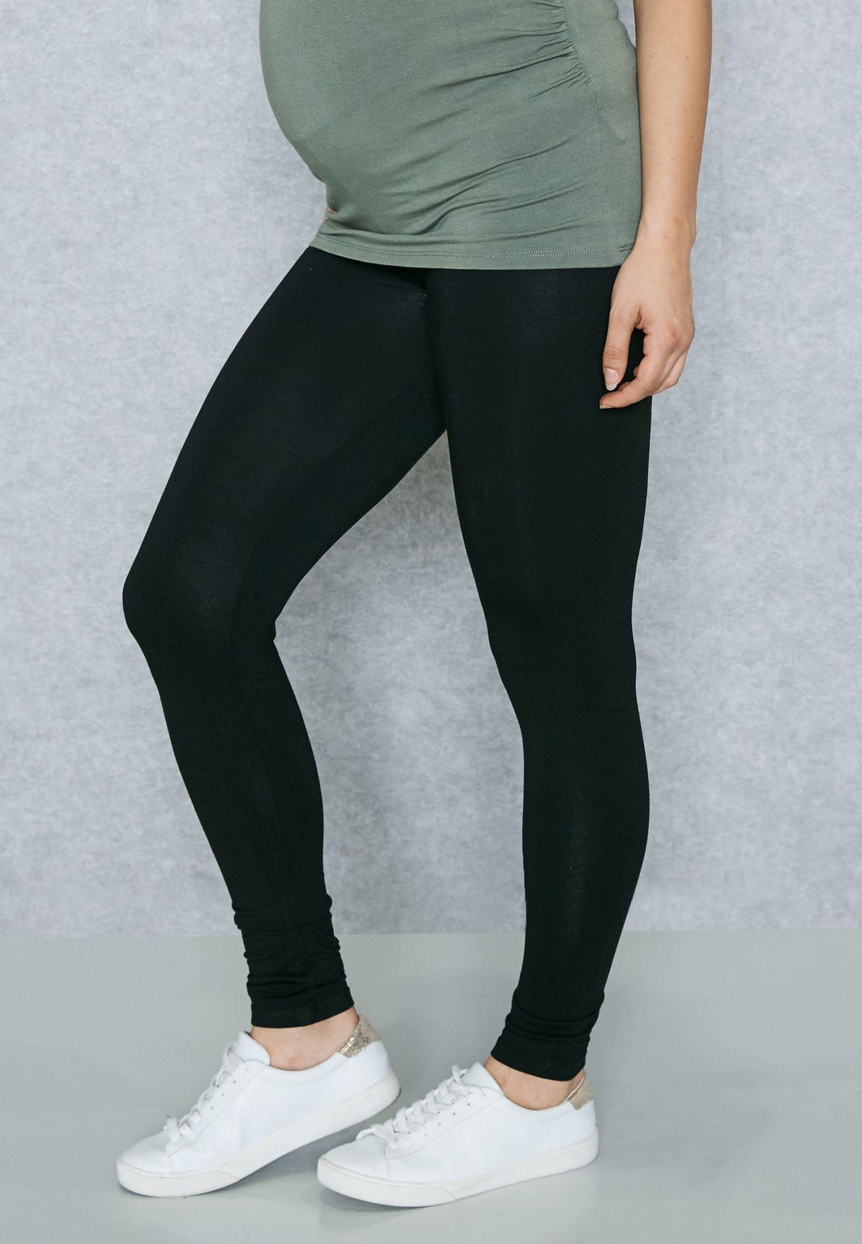 98bfe08d2714c Shop Dorothy Perkins Maternity black Under Bump Essential Leggings ...