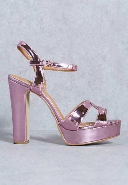 Kimaya Platform Heeled Sandals