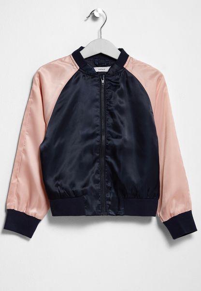 Little Short Bomber Jacket