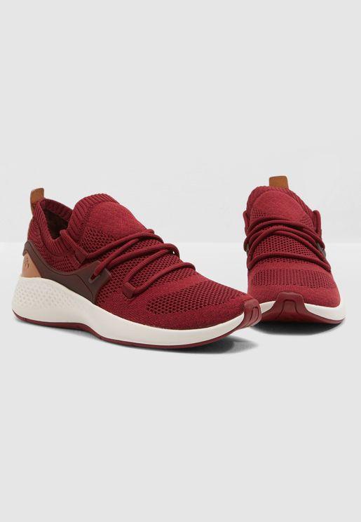 حذاء جلد اصلي فلاي روم جو شوكا