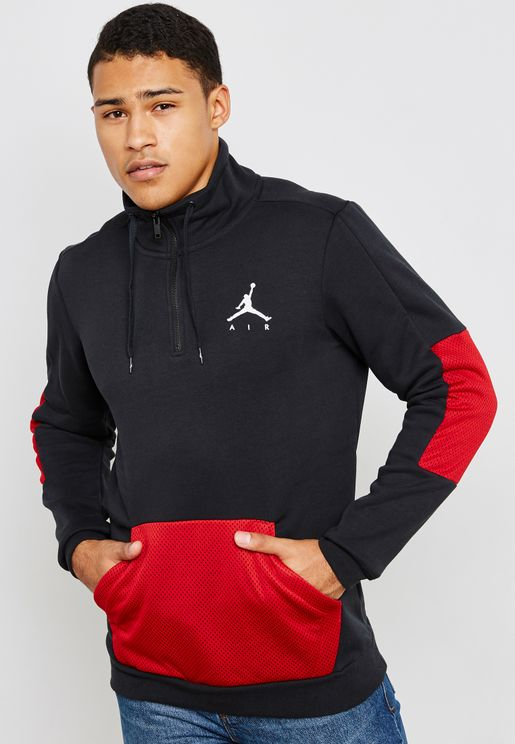 Jordan Jumpman Hybrid Fleece Sweatshirt