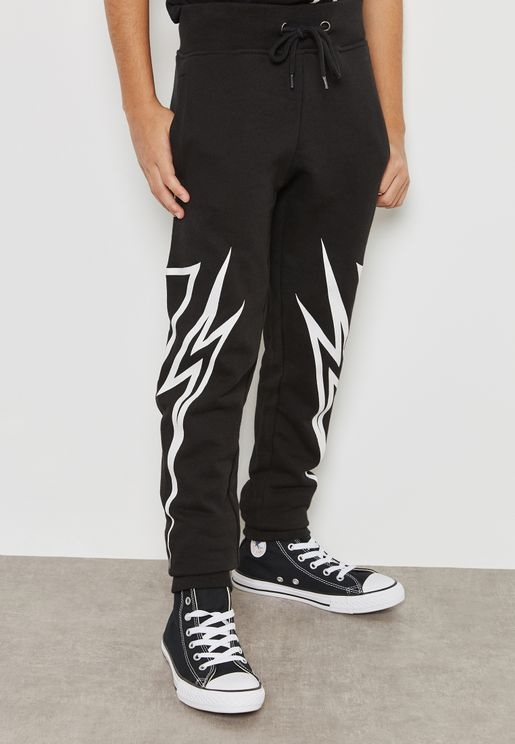 Little Graphic Sweatpants