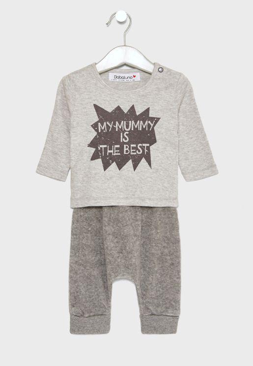 Infant Top + Pants Set