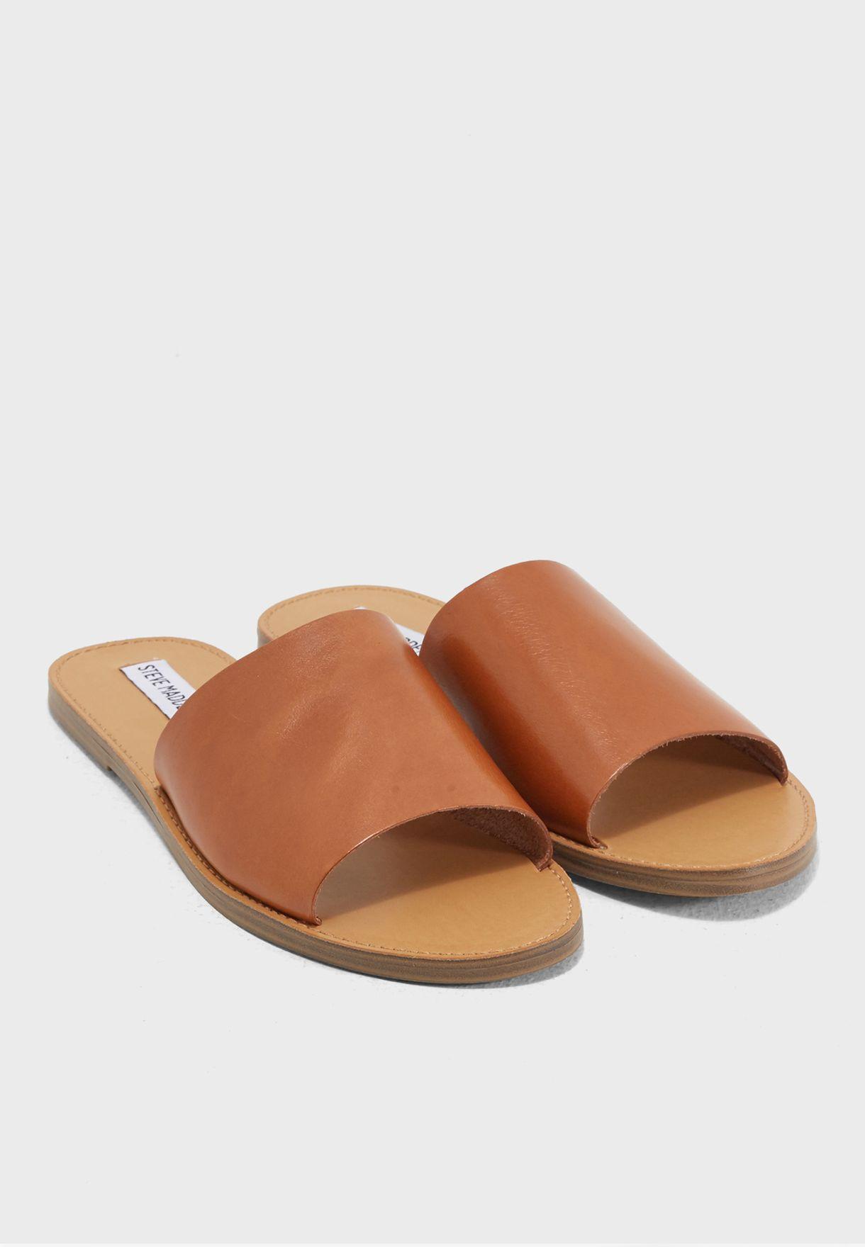 20399d666ead Shop Steve Madden brown Grace Flat Sandals GRACE for Women in UAE ...