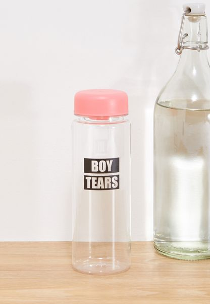Boy Tears Water Bottle