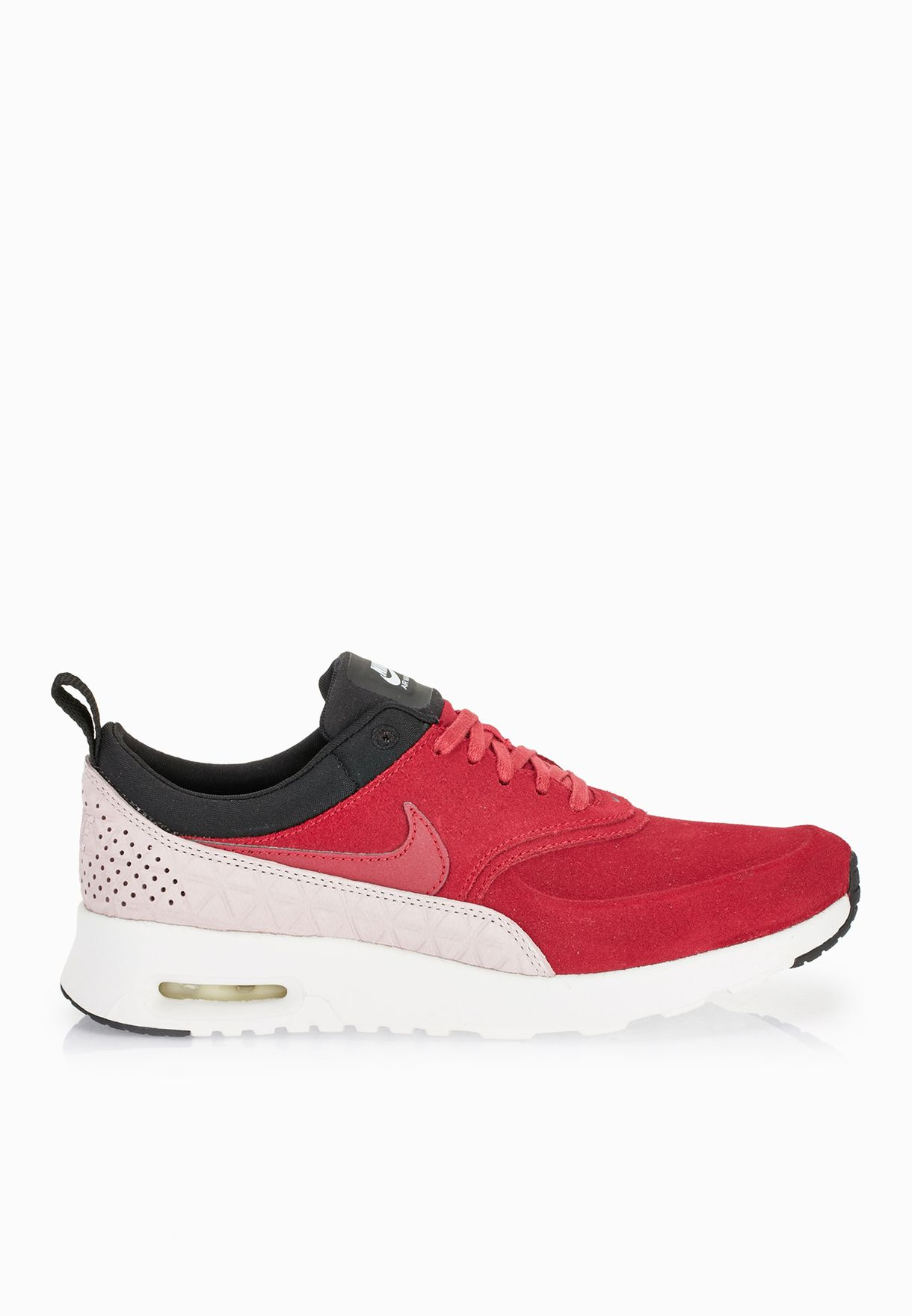 Shop Nike burgundy Air Max Thea Prm Lth 845062-600 for Women in ... e2e0715c7