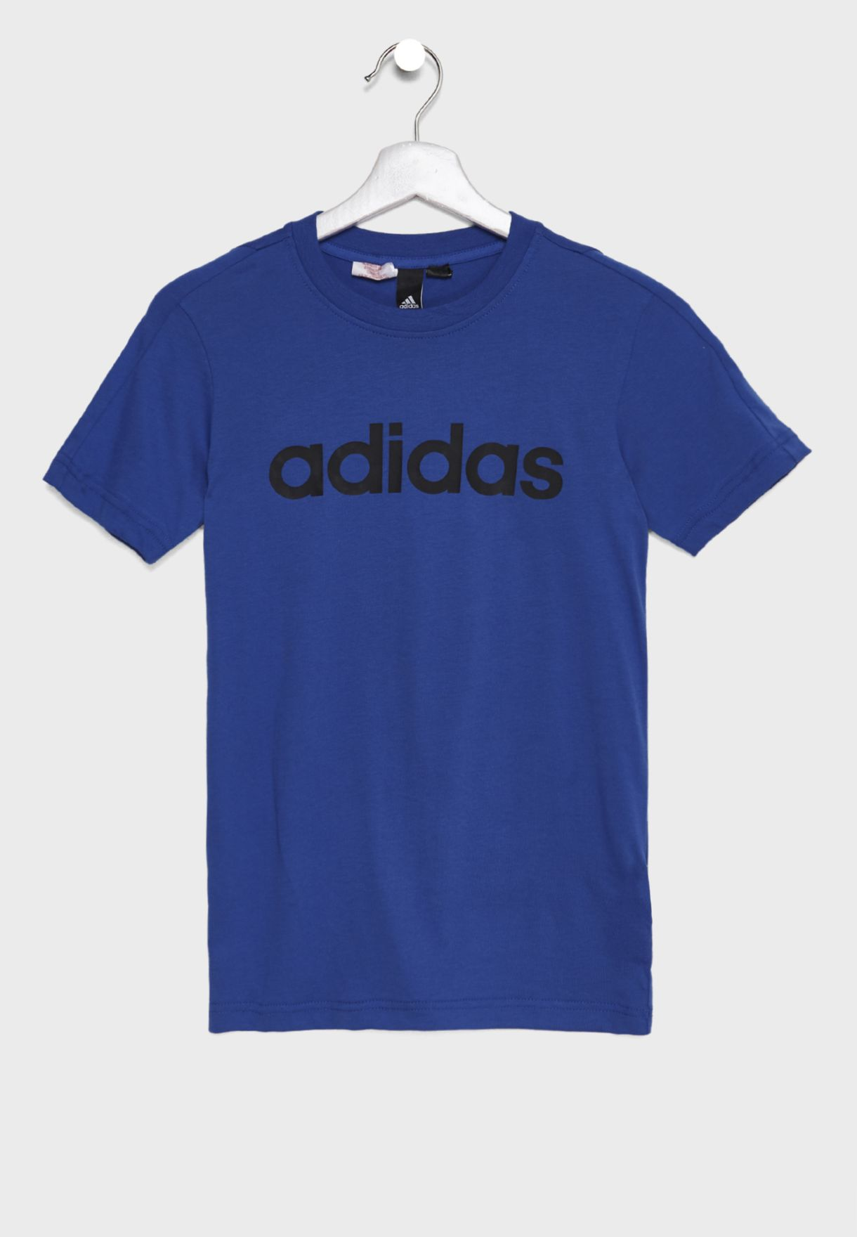 Shop adidas blue Youth Linear T-Shirt DJ1767 for Kids in UAE ... 1e80aeaee04