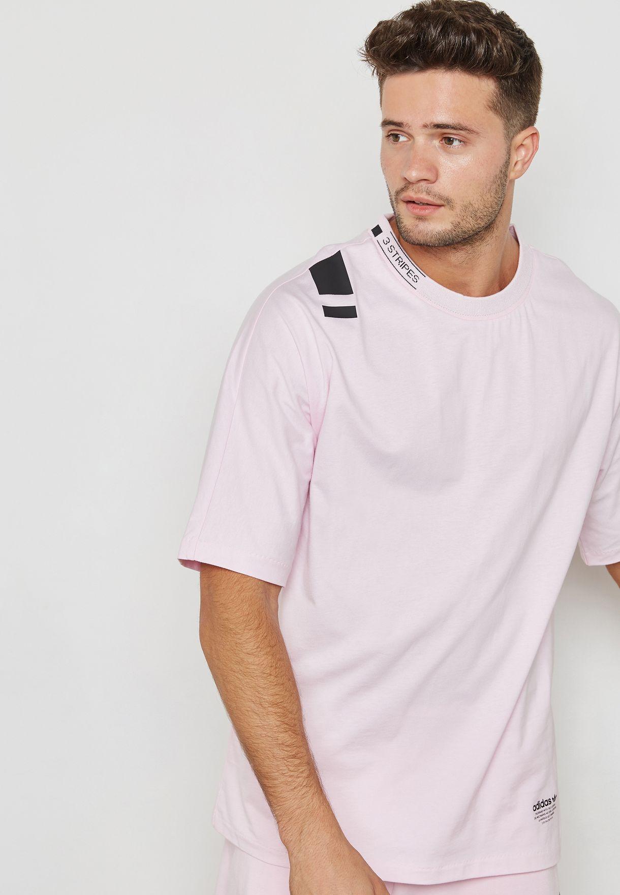 Shop adidas Originals pink NMD T-Shirt CV5812 for Men in Kuwait -  AD478AT81EXU e7957d29ca66