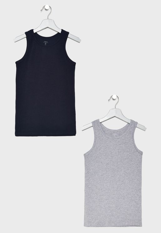 Kids 2 Pack Essential Tank