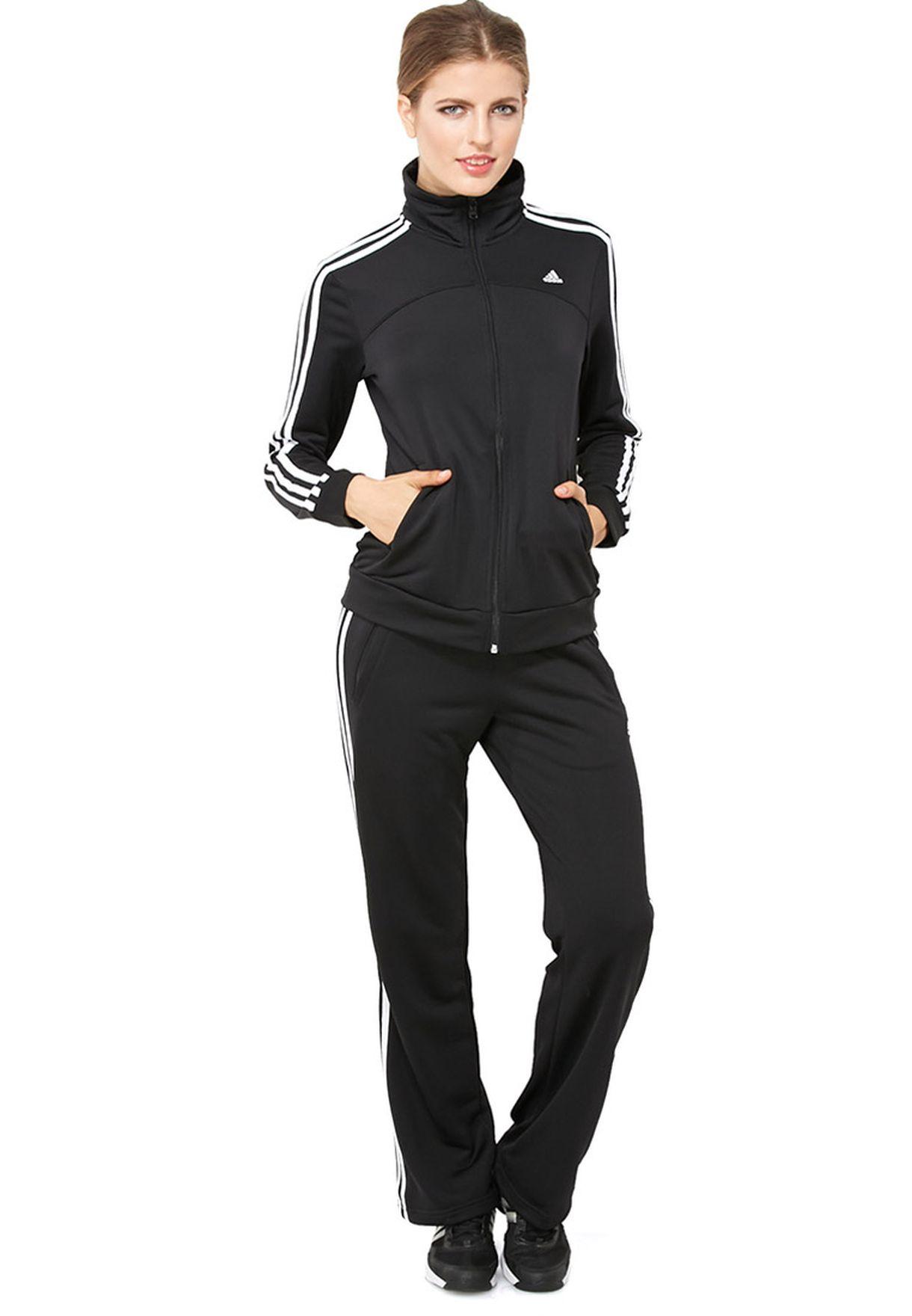f47ba48c1 تسوق بدلة رياضية ماركة اديداس لون أسود D89812 في الامارات - AD476AT81TKK