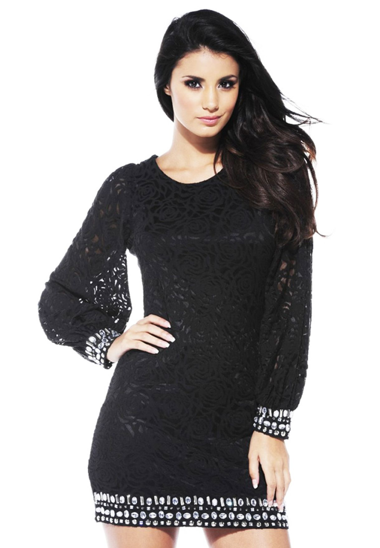 e8a236408 Shop Ax paris black Party Dress for Women in Qatar - AX257AT81PIS