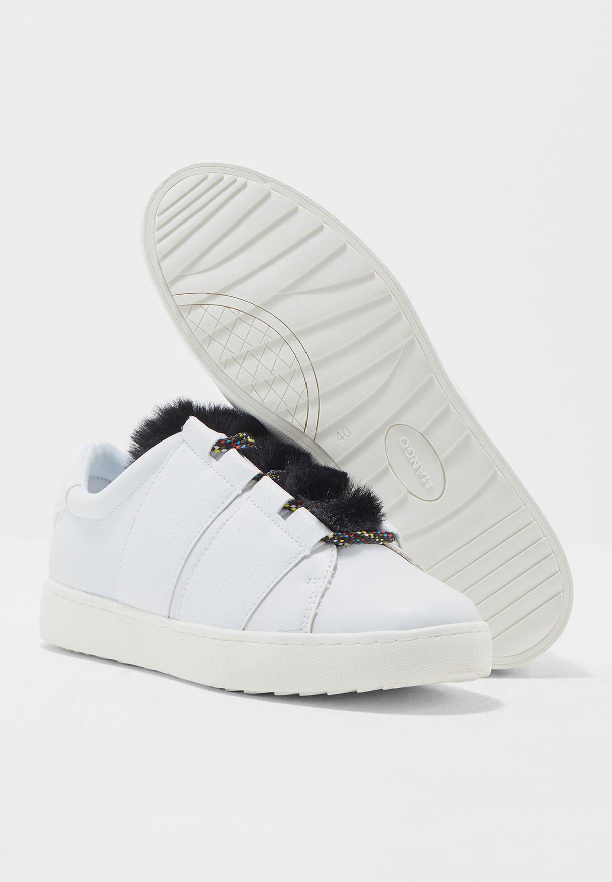 Flip Fur Sneaker