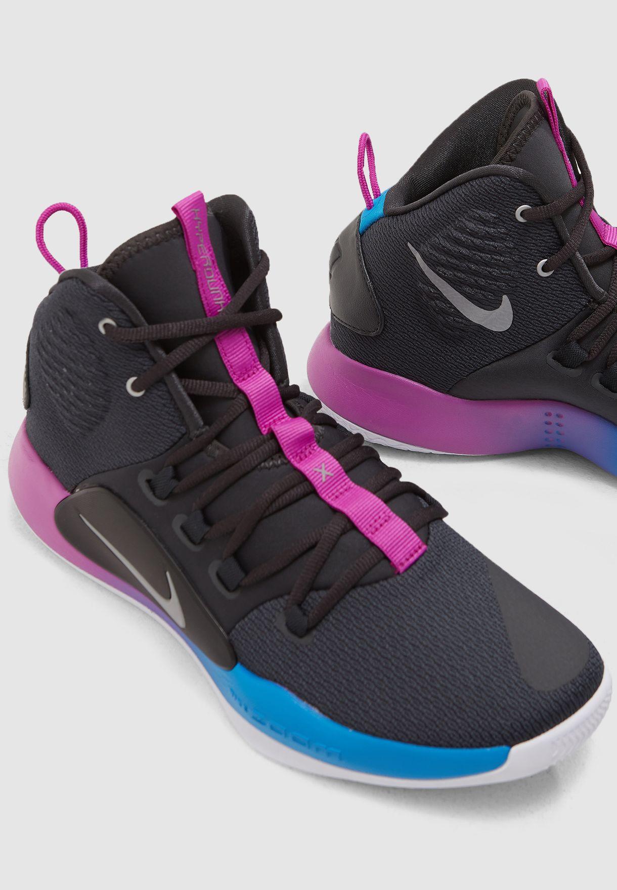 31768c5cd53 Shop Nike grey Hyperdunk X AO7893-002 for Men in UAE - NI727SH81SYC