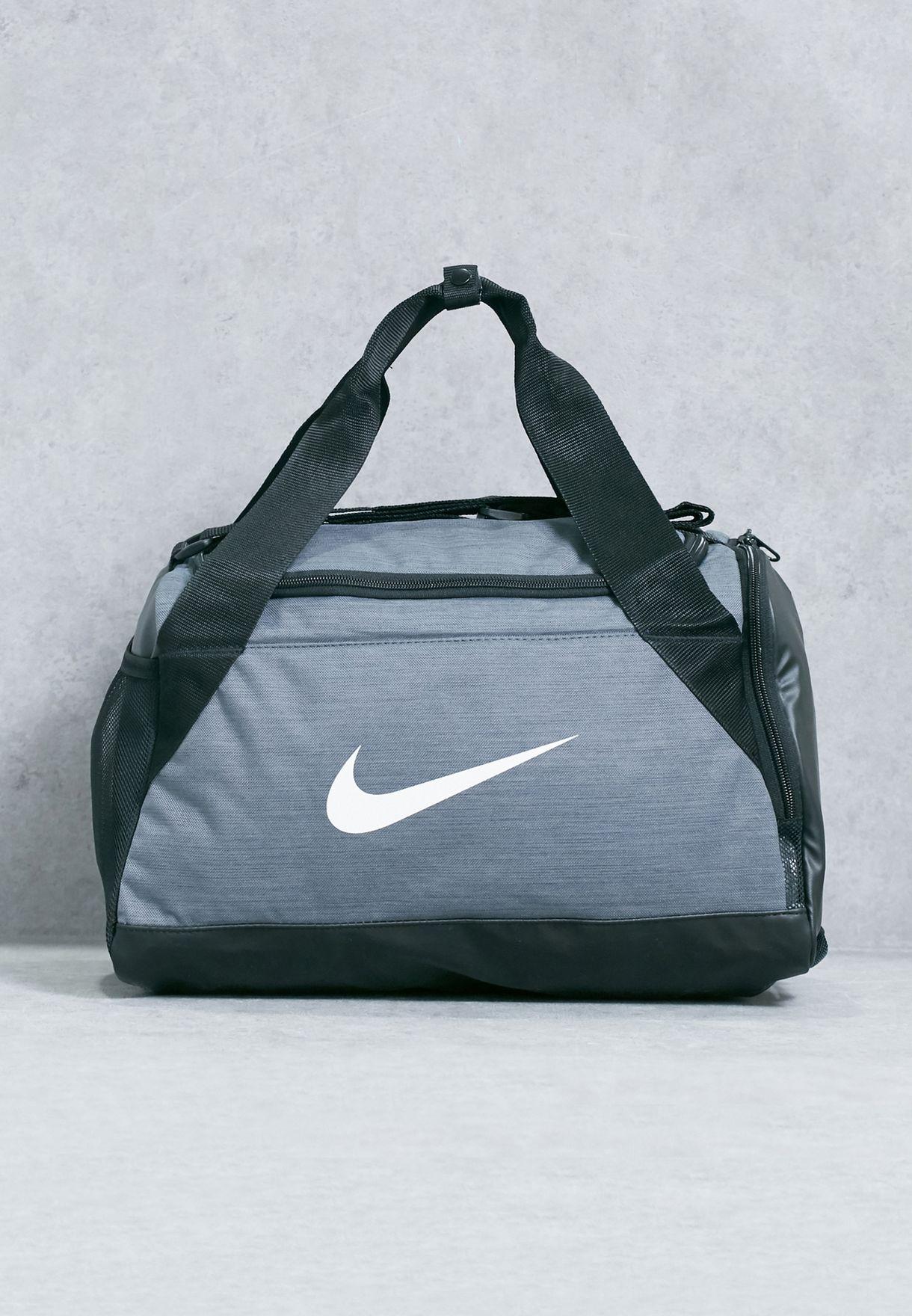 c50d0cb300f9 Shop Nike grey Extra Small Brasilia Duffel BA5432-064 for Women in Saudi -  NI727AC81ZIW
