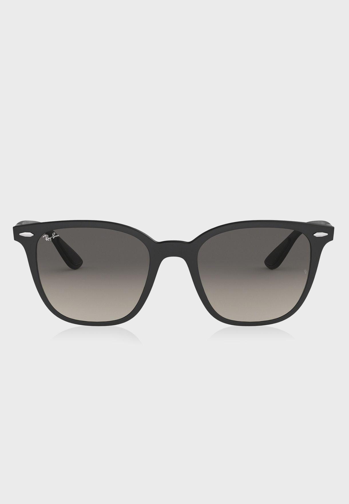 489191c4d7 Shop Ray-Ban black 0RB4297 Wayfarer Sunglasses 8053672869590 for Men ...