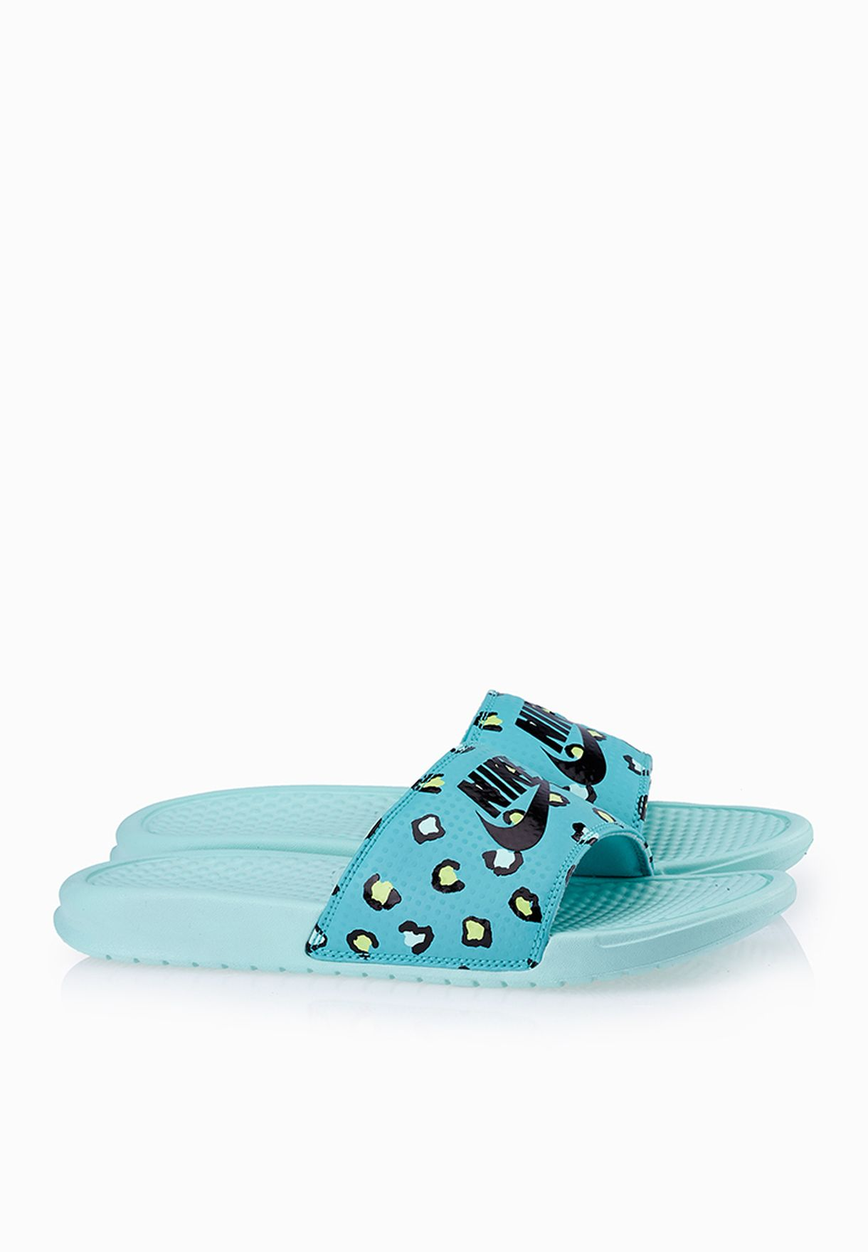 de3e2d692019 Shop Nike blue Benassi Jdi Print Slides 618919-403 for Women in Qatar -  NI727SH81UYS