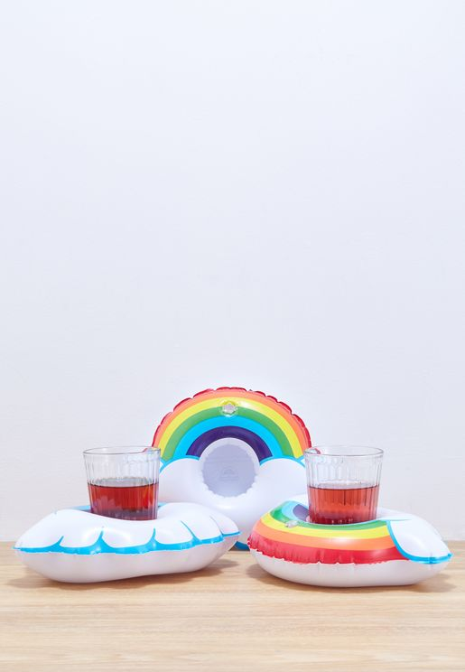 3 Pack Rainbow Beverage Floats
