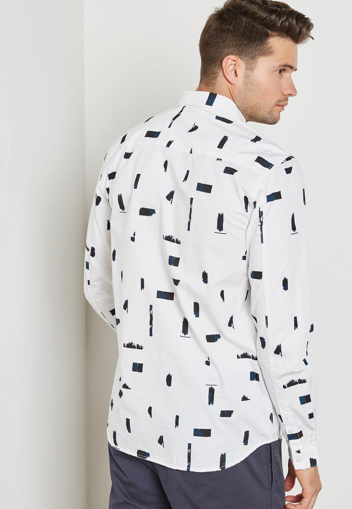 Gassan Printed Shirt