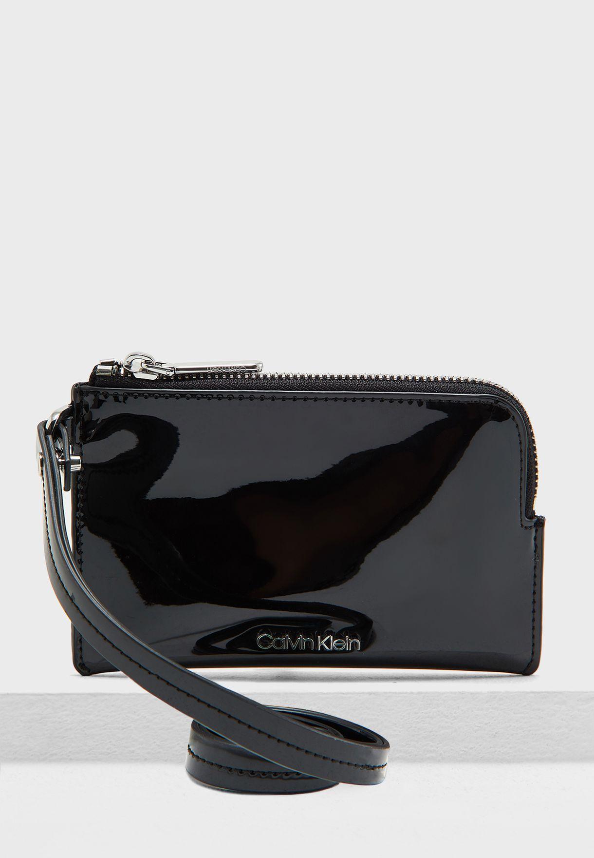 0bd624bba3293 Shop Calvin Klein black Small Top Zip Purse K60K605006 for Women in ...