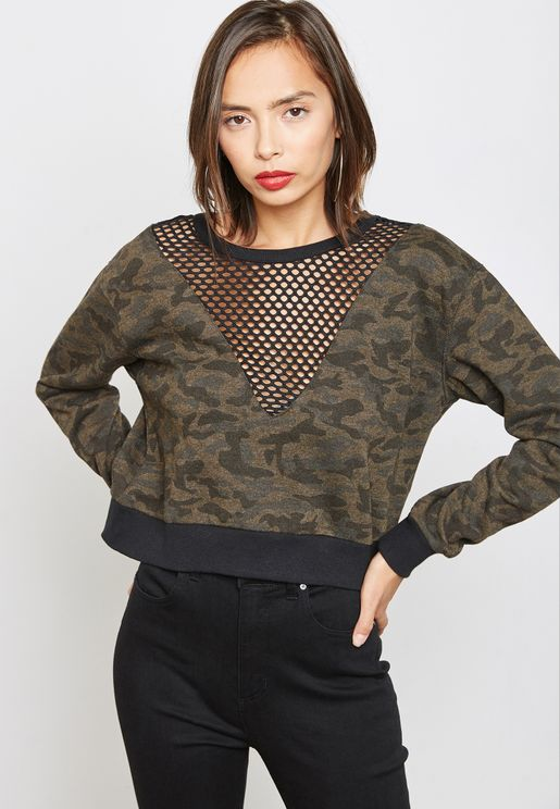 a08325f5c9 Forever 21 Prints Hoodies and Sweatshirts for Women