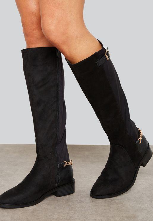 Bandeau Knee Boot