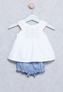 Infant Embroidery Dress