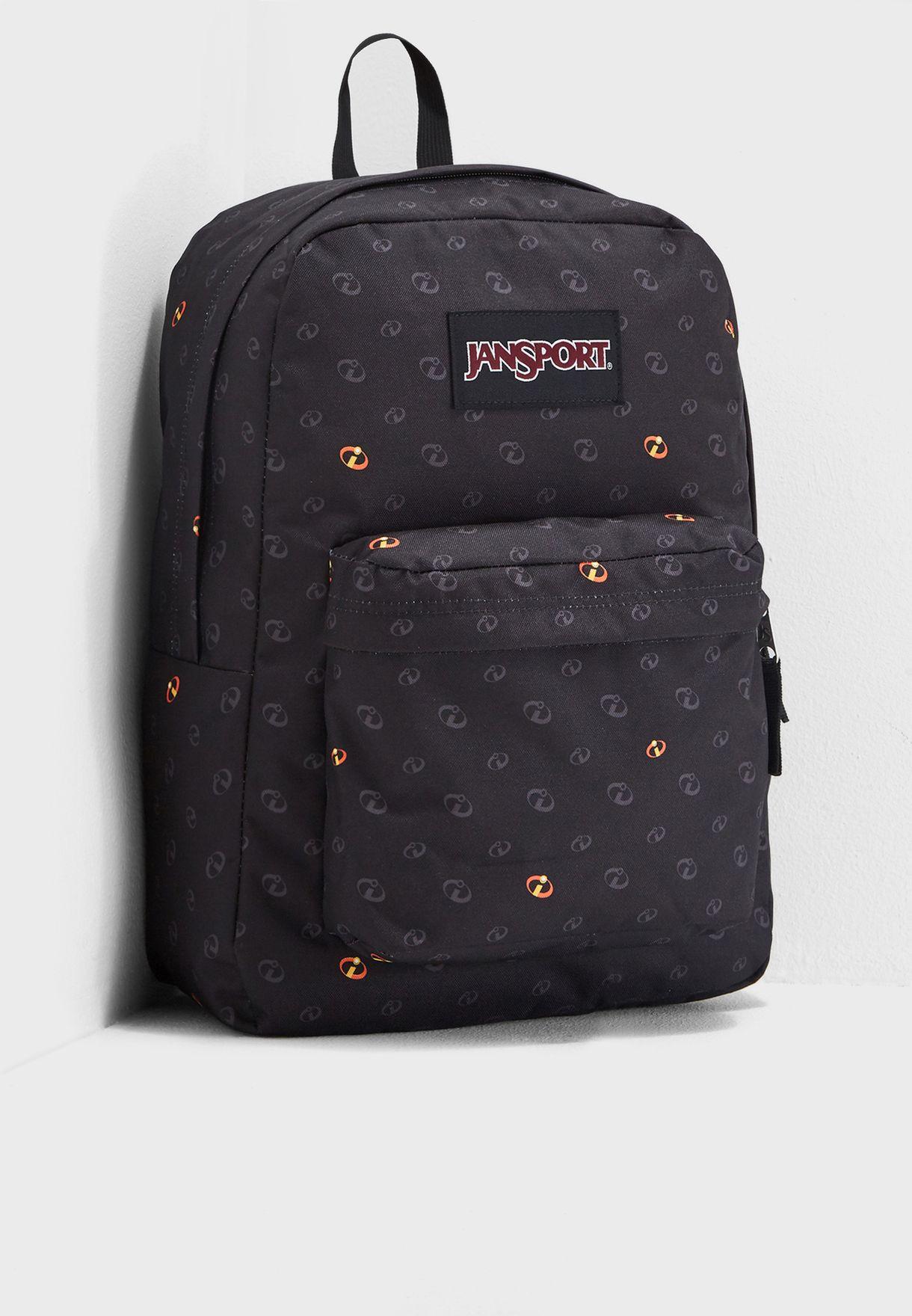 23185e5ec49c Shop Jansport prints Kids Incredibles Superbreak Backpack JS0A3P1G51N for  Kids in Saudi - JA179AC81GTU