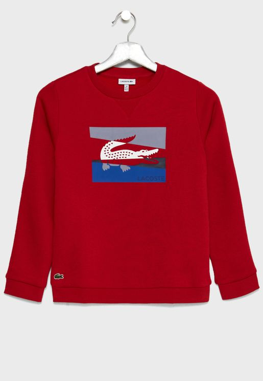 Kids Logo Graphic Sweatshirt