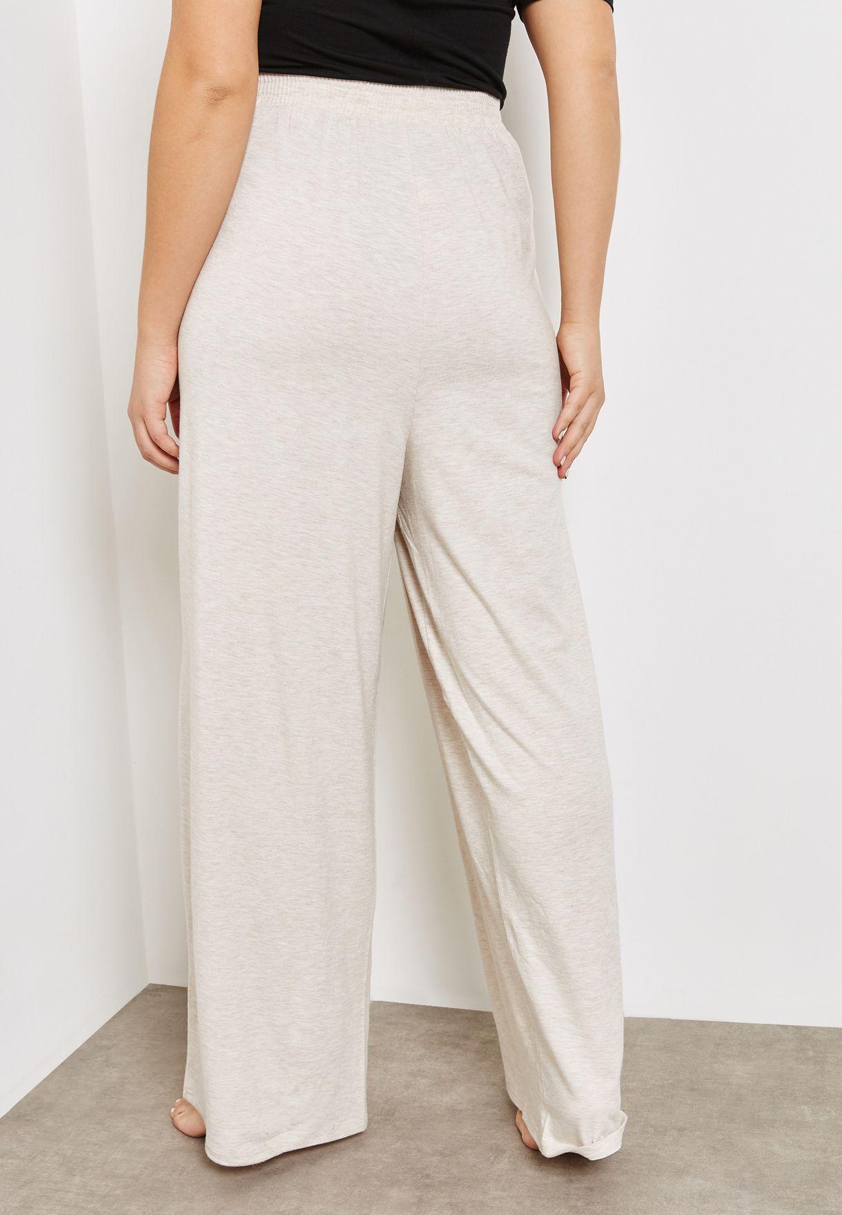 Lace Detail Waist Tie Pyjama