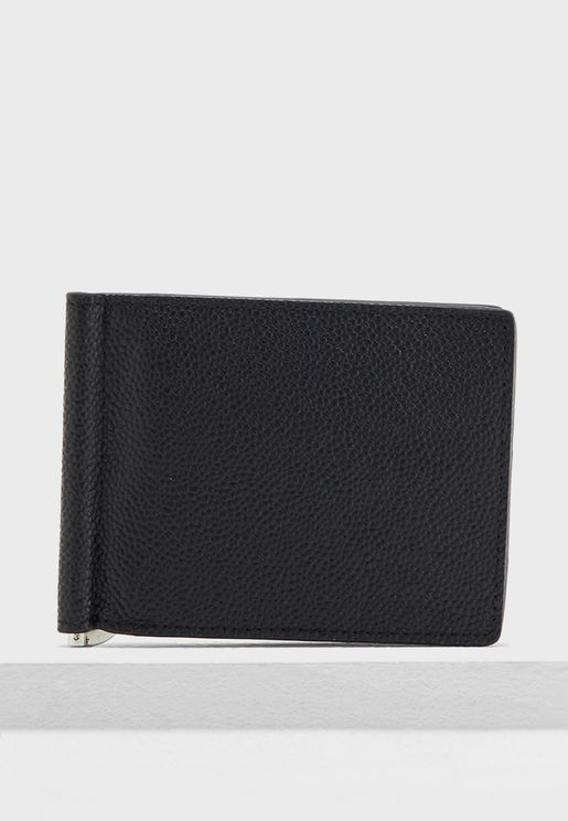 Pebbled Leather Wallet