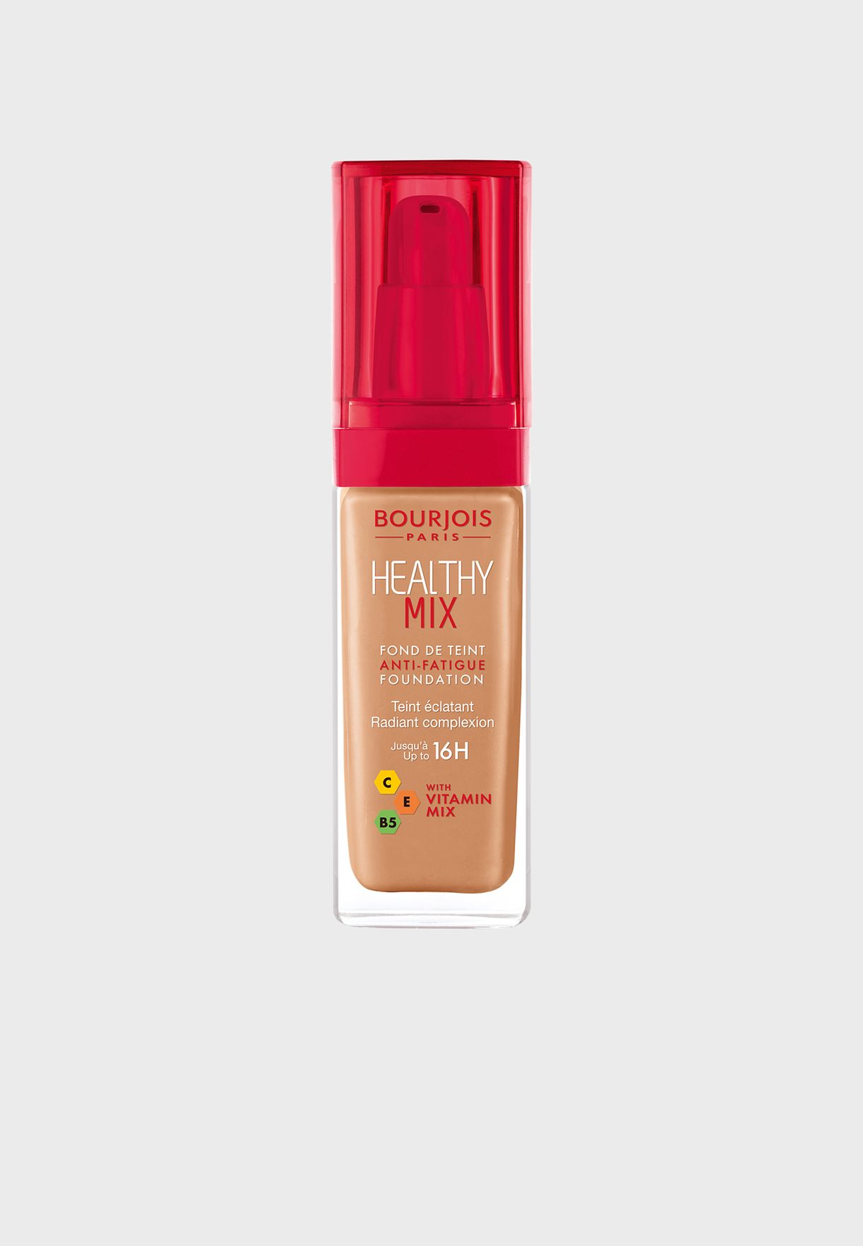 Healthy Mix Anti-Fatigue Foundation 56 Light Tan