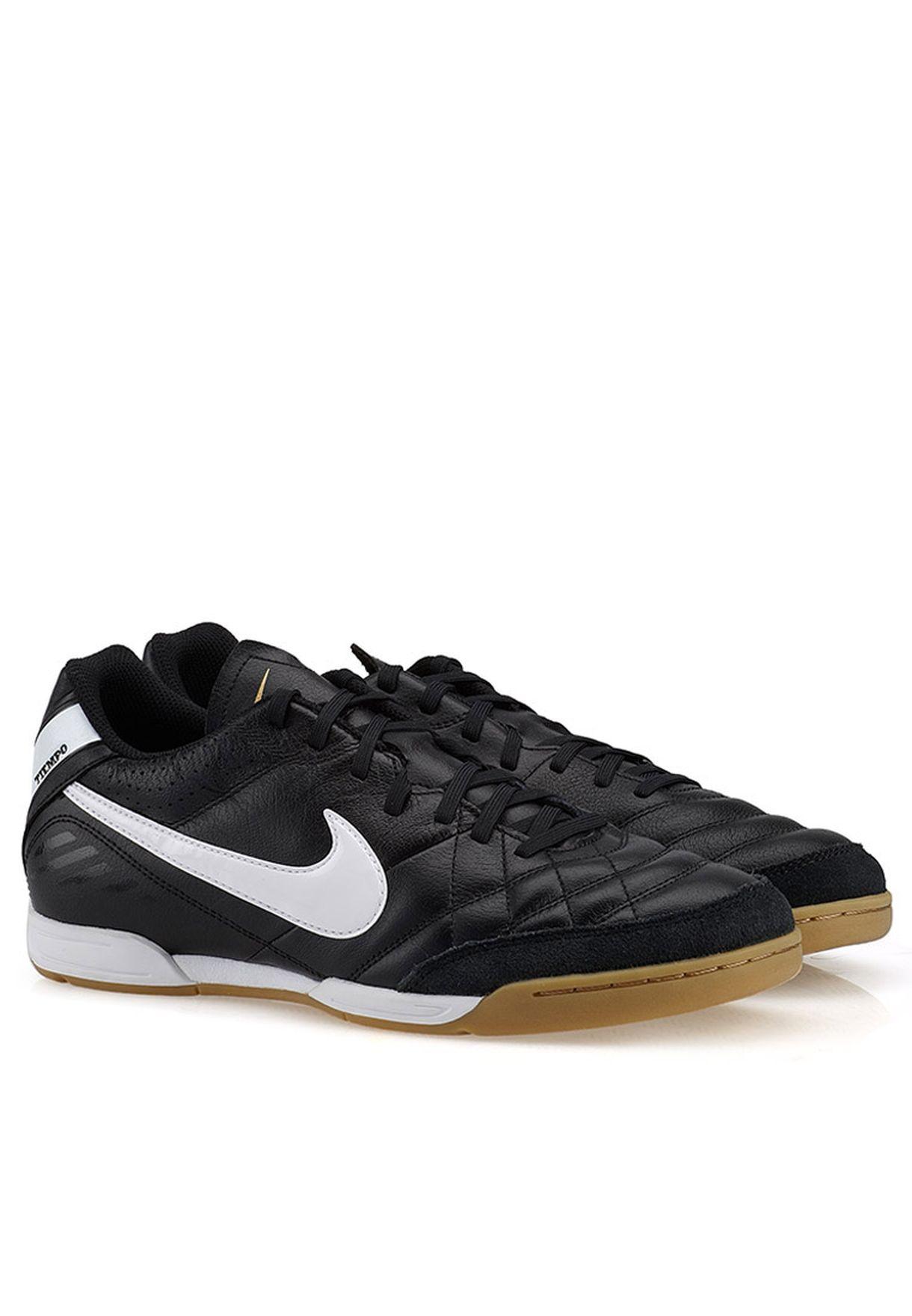 f8989071c Shop Nike black TIEMPO NATURAL IV LTR IC 509090-012 for Men in UAE ...