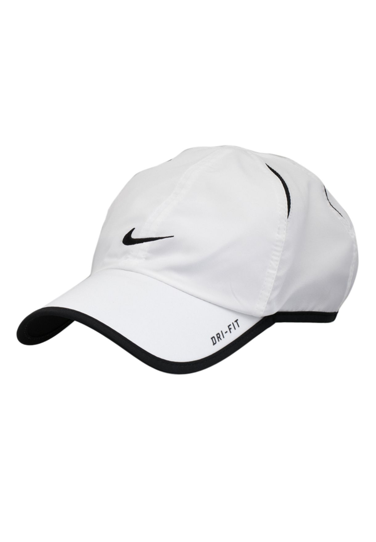 3a6883db88e Shop Nike white Feather Light Cap NKAP595510-100 for Men in Qatar -  NI727AC71TBG