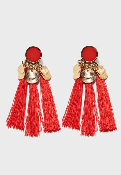 Jamila Tassel Earrings