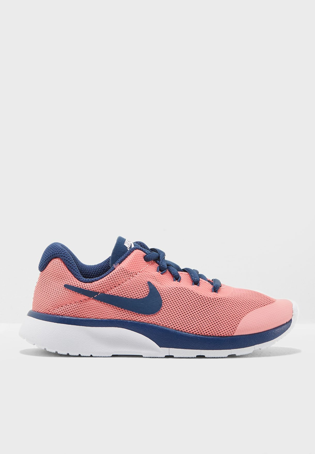 7260603dfb495b Shop Nike pink Tanjun Racer Kids AH5246-600 for Kids in Bahrain -  NI727SH71ZKY