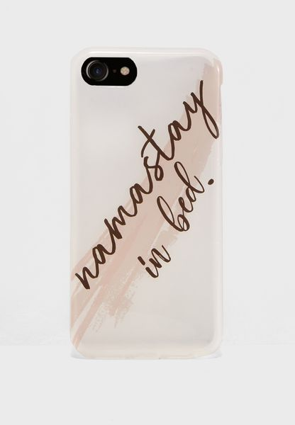 Namastay In Bed Phone Case - Hybrid