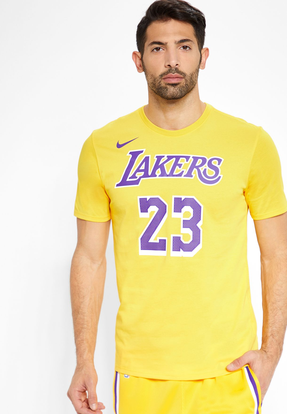 buy popular 15ad6 e2b1b LA Lakers LeBron Dri-FIT T-Shirt