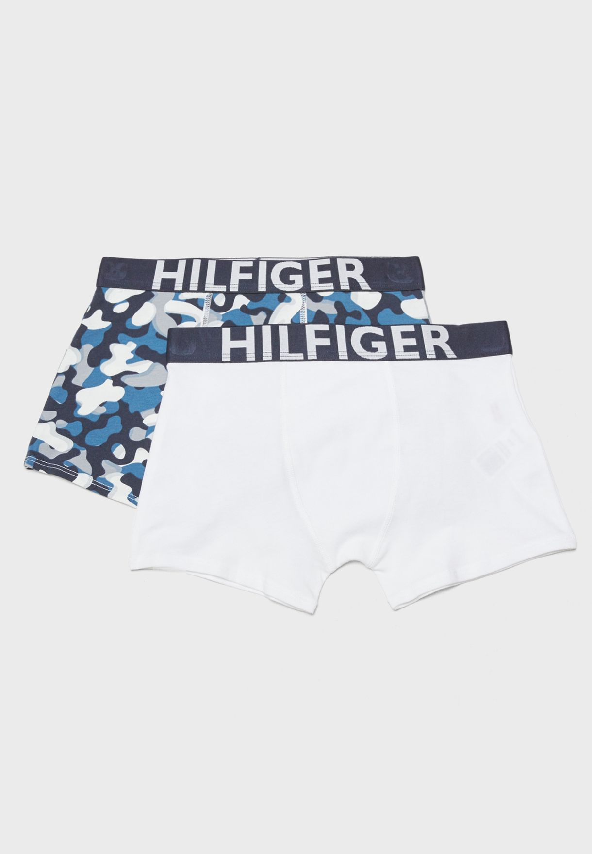 2f80ecb6b9 Shop Tommy Hilfiger multicolor Little 2 Pack Trunks UB0UB00062 for ...