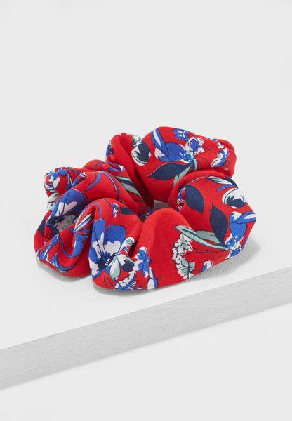 Floral Scrunchie Headband