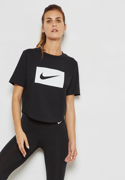 Swoosh Cropped T-Shirt