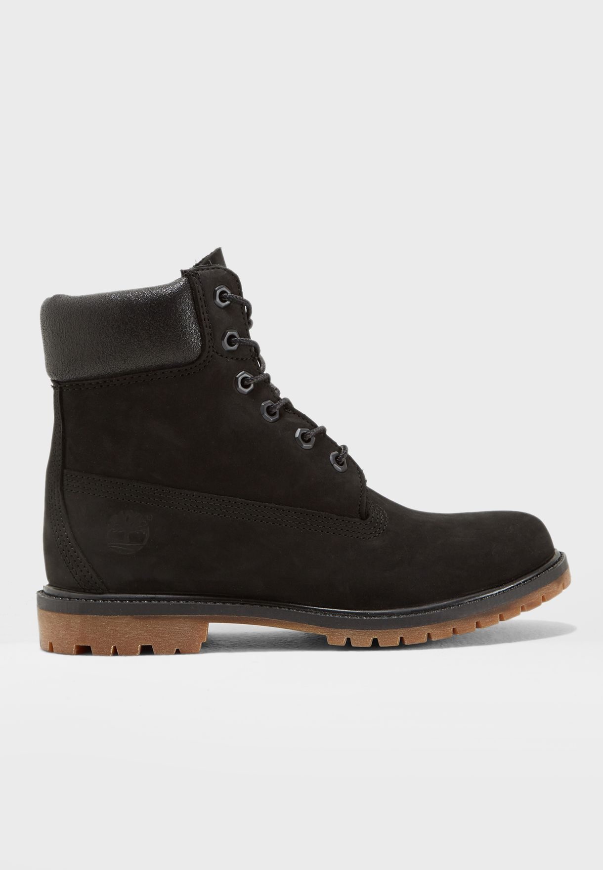 0846aec0 Shop Timberland black 6 In Premium Boot A1K38W for Women in Bahrain ...